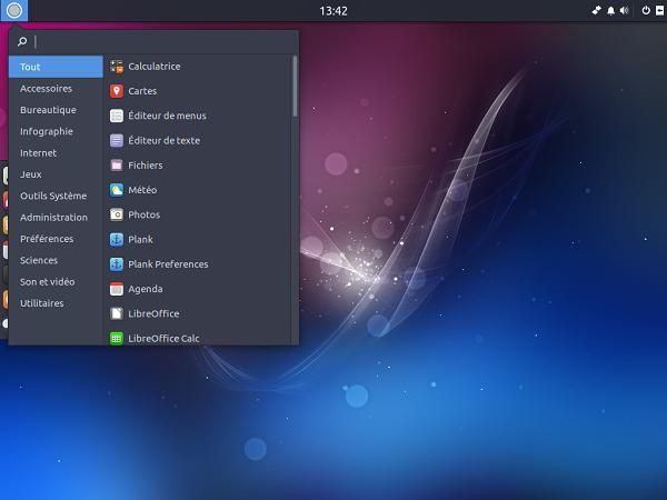 Ubuntu Budgie Remix bureau