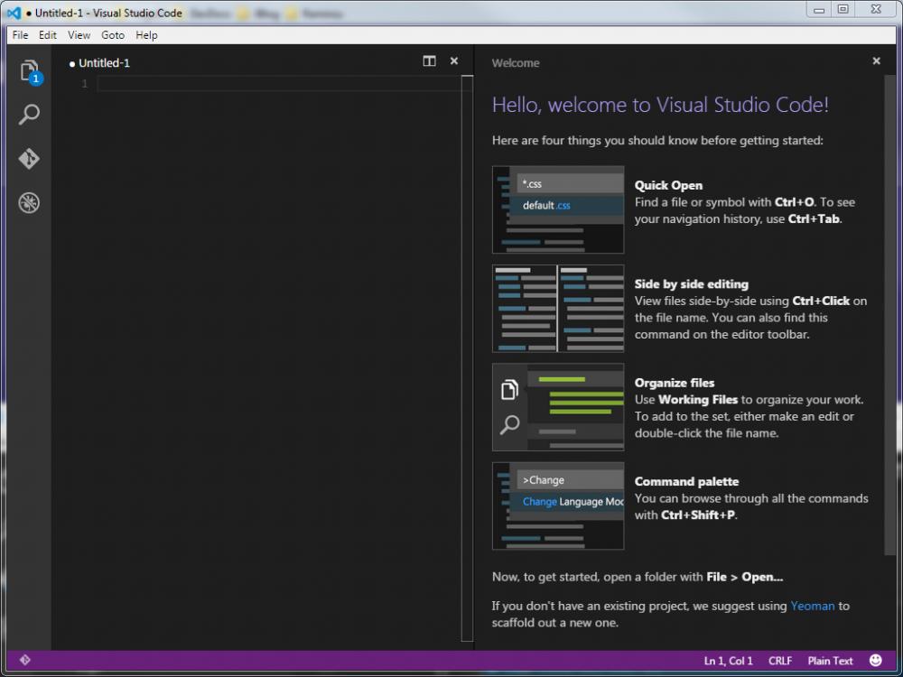 Visual Studio Code - Premier démarrage