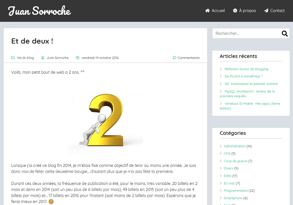 Thème WordPress MyStem